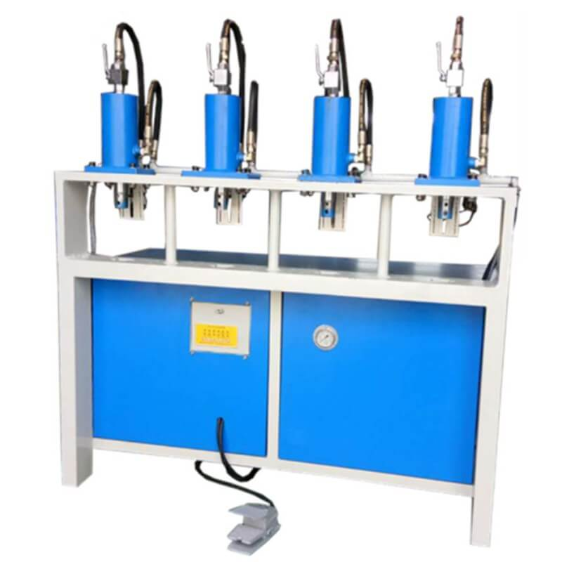 4 Workstations Tube Hole Punching Machine