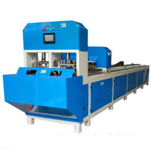 CNC Automatic Punching and band saw cutting Machine