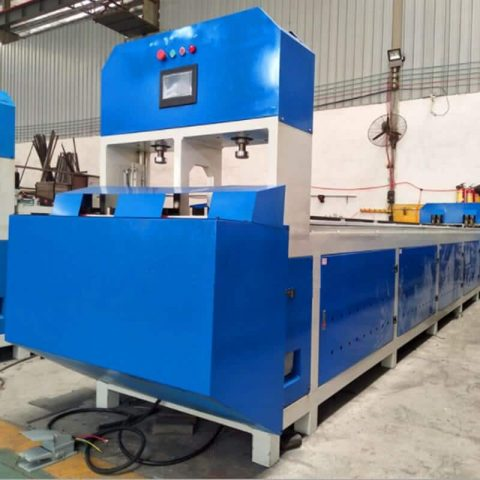 Fully auto punching cutting machine factory