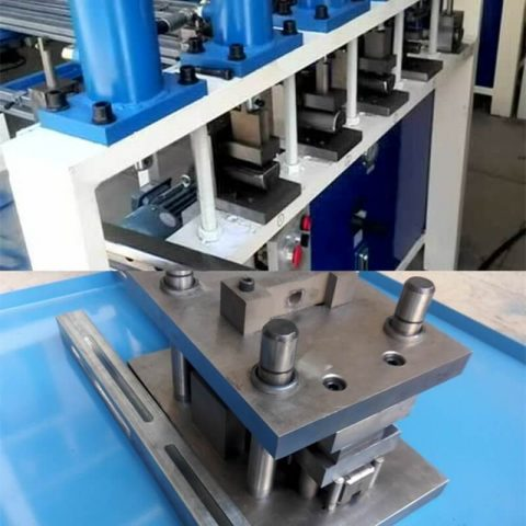 Hole puncher steel punching machine