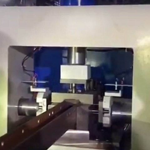 Three direcitons NC Fully automatic punching machine for H iron bar